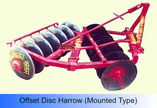 Offset Disc Harrow (Mounted Type)