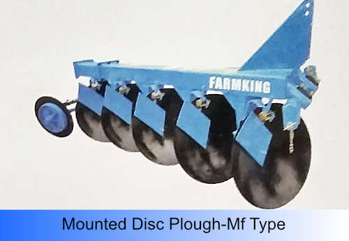 Disc Plough-Mf Type