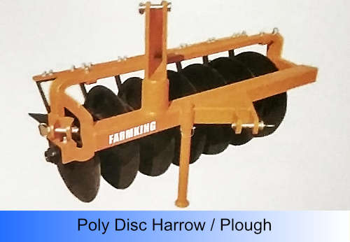 Poly Disc Harrow / Plough