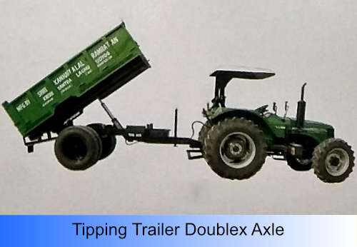 Tipping Trailer Doublex Axle
