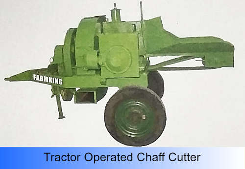 Tractor Operated Chff Cutter